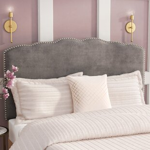Willa Arlo Interiors Demers Upholstered Panel Headboard