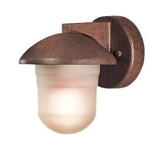 Danbury 1-Light Outdoor Sconce by Great Outdoors by Minka
