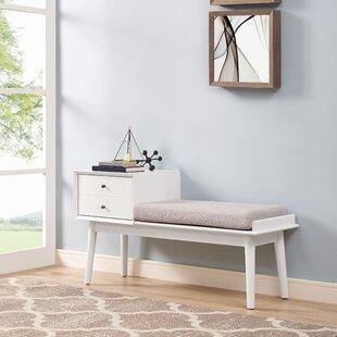 Langley Street Easmor Upholstered Storage Bench