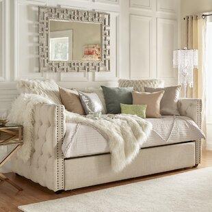 e0746fa9fdff Beige Daybeds You'll Love in 2019 | Wayfair