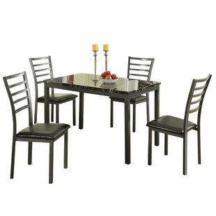 Chism Modish Feast 5 Piece Dining Set Ebern Designs