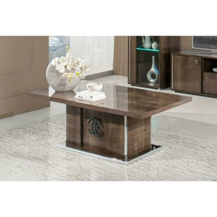 Clancy Wooden Coffee Table
