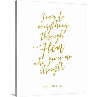 U0027Philippians 4:13   Scripture Artu0027 Textual Art