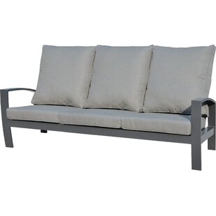 Crowle Garden Sofa With Cushions By Sol 72 Outdoor