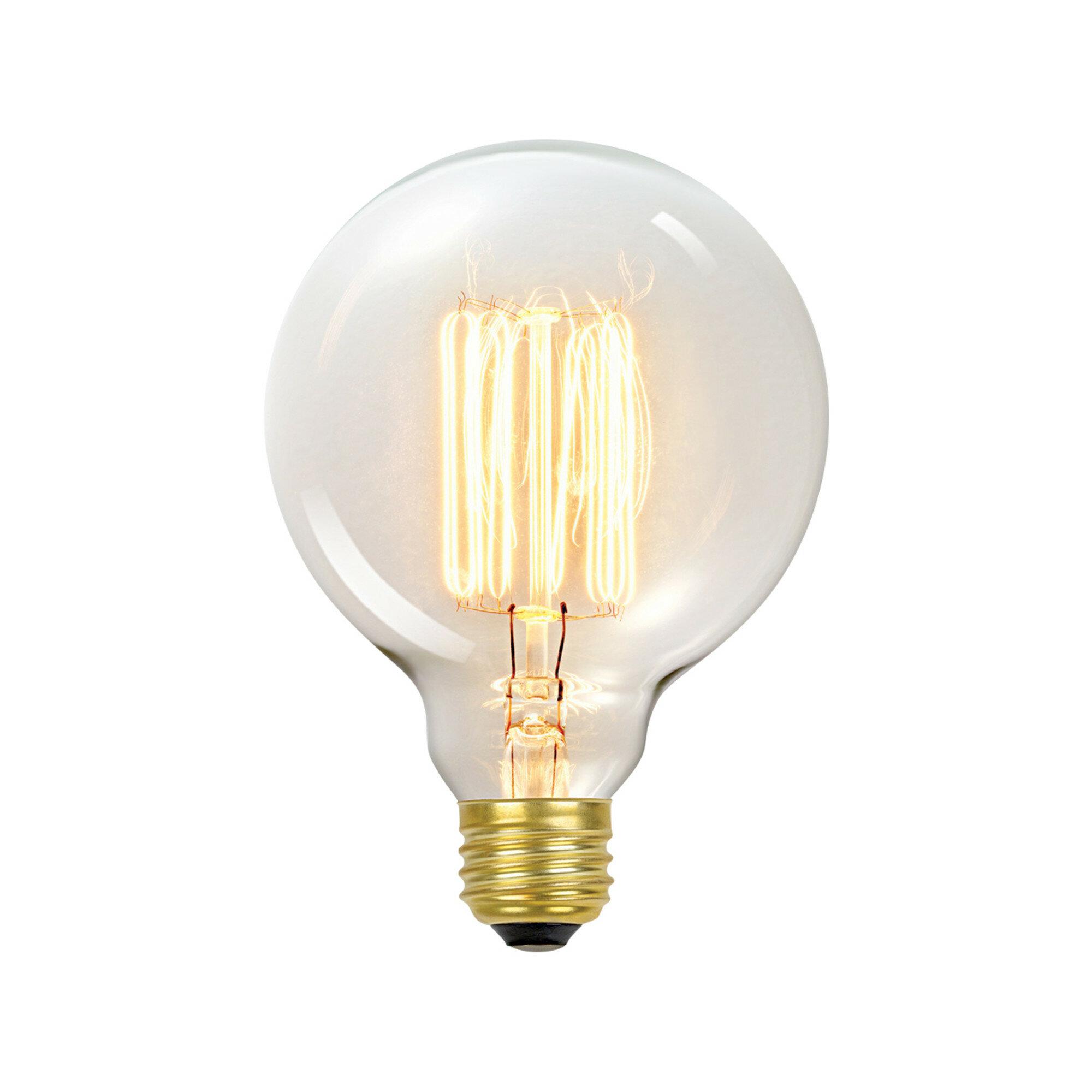 60 Watt G30 Incandescent Dimmable Light Bulb Warm White 2700k E26 Medium Standard Base Reviews Joss Main