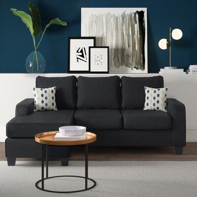 Brilliant Mercury Row Morpheus Sectional Inzonedesignstudio Interior Chair Design Inzonedesignstudiocom