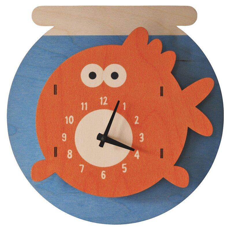 Fishbowl Wall Clock