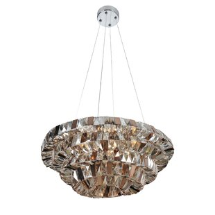 Allegri by Kalco Lighting Gehry 8-Light Mini Pendant