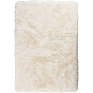 Best Deals Somerville Hand-Tufted Pearl White Area Rug ByHouse of Hampton