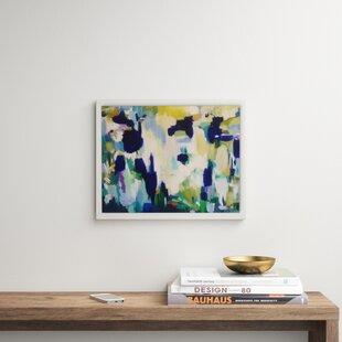 Modern 40 Wide Blue Wall Art Allmodern