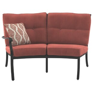 Alcott Hill Yeung Loveseat with Cushions