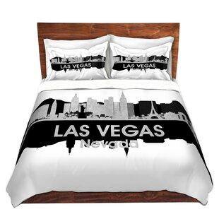 City IV Las Vegas Nevada Duvet Set by East Urban Home
