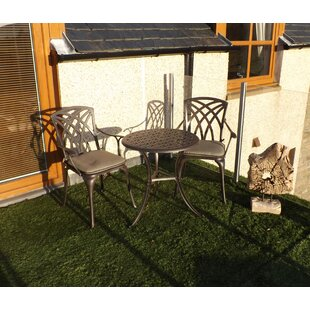 Ryne 2 Seater Bistro Set With Cushions By Sol 72 Outdoor