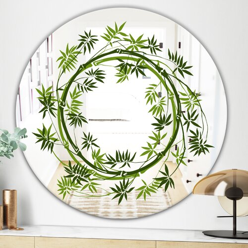 East Urban Home Circle Of Bamboo Plants Cabin And Lodge Accent