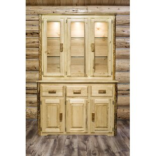 Tustin Lighted China Cabinet by Loon Peak