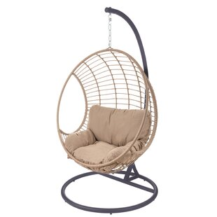 Bartelso Outdoor Pendant Swing Chair With Stand By Sol 72 Outdoor