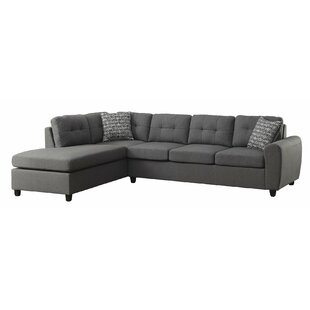 Ember Reversible Sectional by Winston Porter Comparison