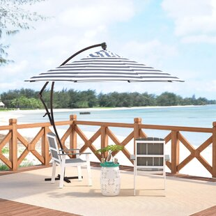 April 9' Cantilever Umbrella by Beachcrest Home Comparison