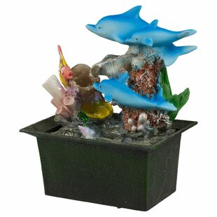Belltown Battery Dolphin Ceramic Fountain By Sol 72 Outdoor