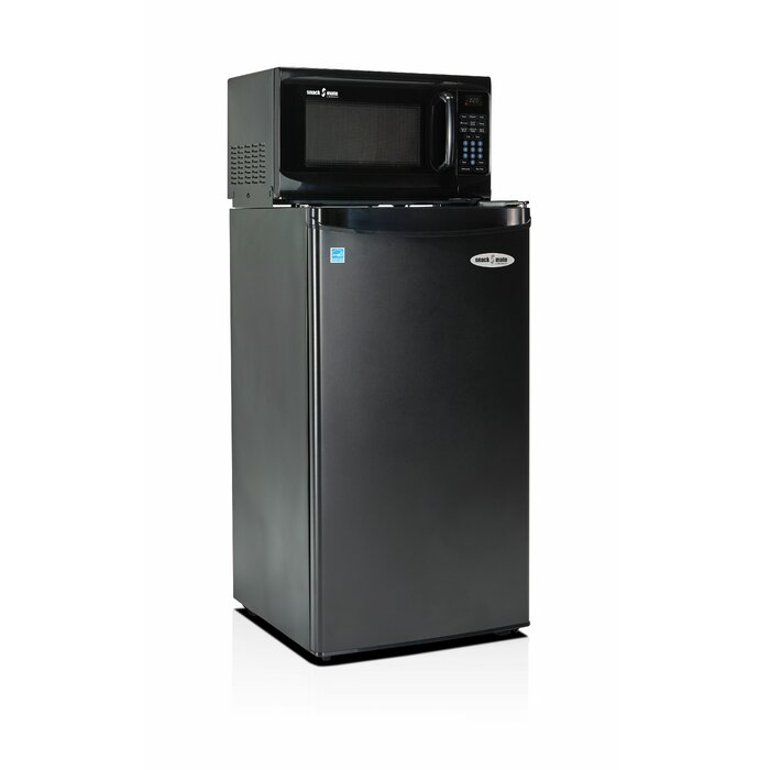 Snackmate 3 2 Cu Ft Freestanding Mini Fridge With Freezer And Microwave