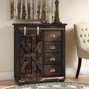 Daub 4 Drawer 1 Sliding Door Cabinet by Laurel Foundry Modern Farmhouse