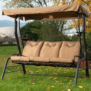 Red Barrel Studio Kirkham Glider Porch Swing with Stand