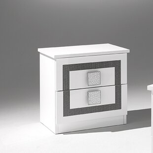 YumanMod Virgo 2 Drawer Nightstand