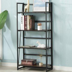 Warnock Foldable Etagere Bookcase