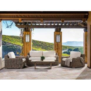 Ardea 4 Seater Rattan Sofa Set By Longshore Tides