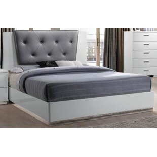 Latitude Run Jantzen Upholstered Panel Bed