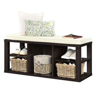 Annsville Wood Storage Bench