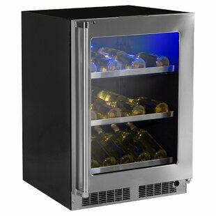 Professional 24-inch 5.3 cu. ft. Undercounter Beverage Center with Hinge Pin by Marvel