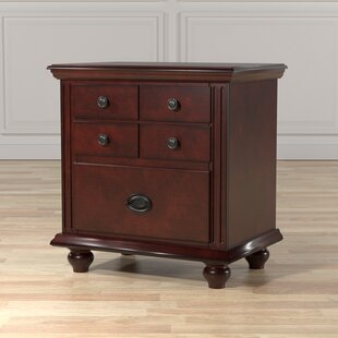Beaupre 2 Drawer Nightstand by Canora Grey