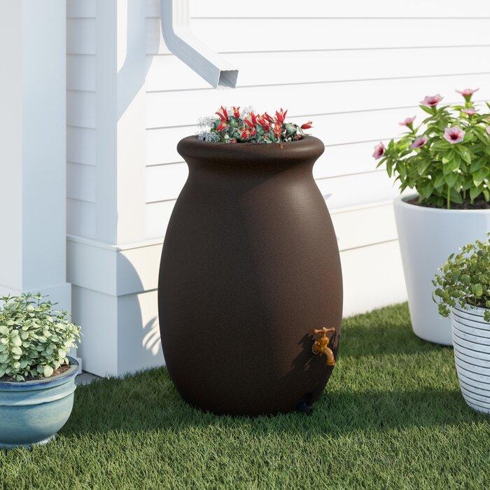 Barrel Rain Saver Out Door Patio Garden