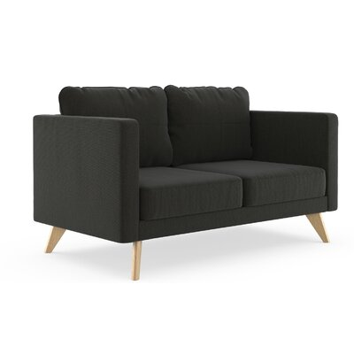 Wondrous Criner Loveseat Corrigan Studio Finish Natural Upholstery Machost Co Dining Chair Design Ideas Machostcouk