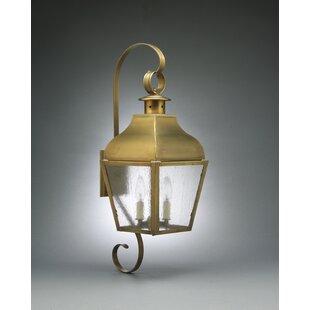 Risborough 1-Light Outdoor Wall Lantern b..