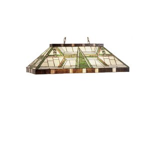 Meyda Tiffany Dana House Oblong 6-Light Pool Table Light