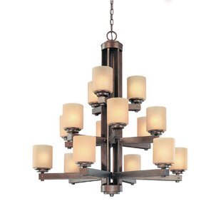 Dolan Designs Sherwood 15-Light Shaded Chandelier