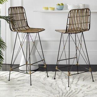 Find the perfect Marleigh 29.5 Bar Stool (Set of 2) by Mistana Reviews (2019) & Buyer's Guide