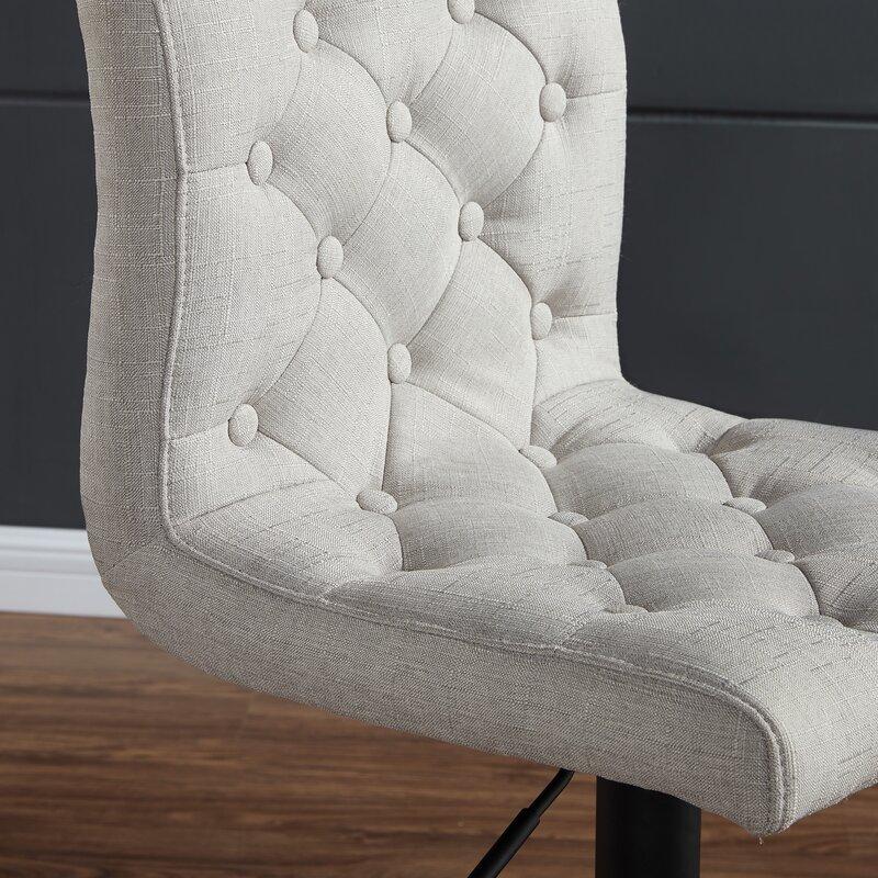 Enjoyable Witney Adjustable Height Swivel Bar Stool Ncnpc Chair Design For Home Ncnpcorg
