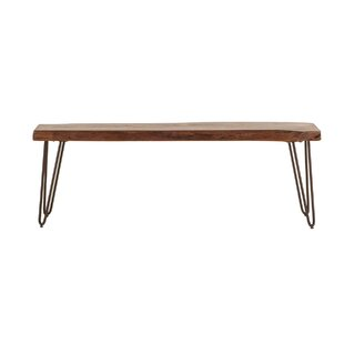 World Interiors Grandby Wood Bench