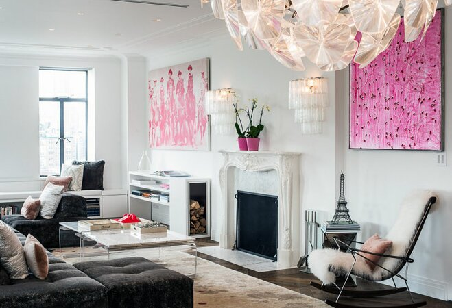 The ultimate guide to glam style for Glam modern living room
