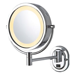 Order 9.5 Lighted Wall Mount Mirror By Jerdon