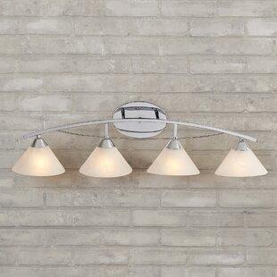 Best Price Beecroft 4-Light Vanity Light By World Menagerie