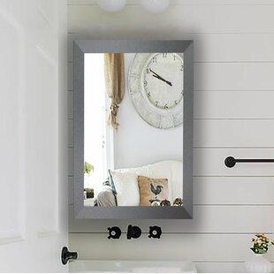 Reviews Scotty Tungsten Smokestack Bathroom/Vanity Mirror ByDarby Home Co