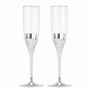 Wedding Champagne Glasses You\'ll Love   Wayfair