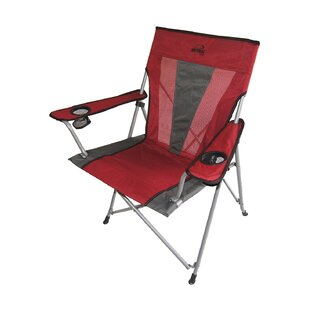 Portable Folding Camping Chair with Cushion