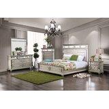 Jaycee Queen 4 Piece Bedroom Set by Rosdorf Park