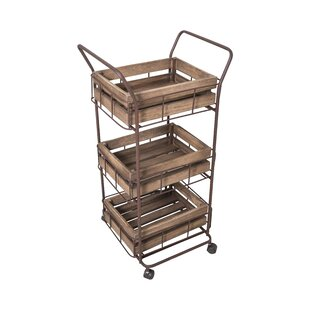 Cristal Serving Trolley By Williston Forge