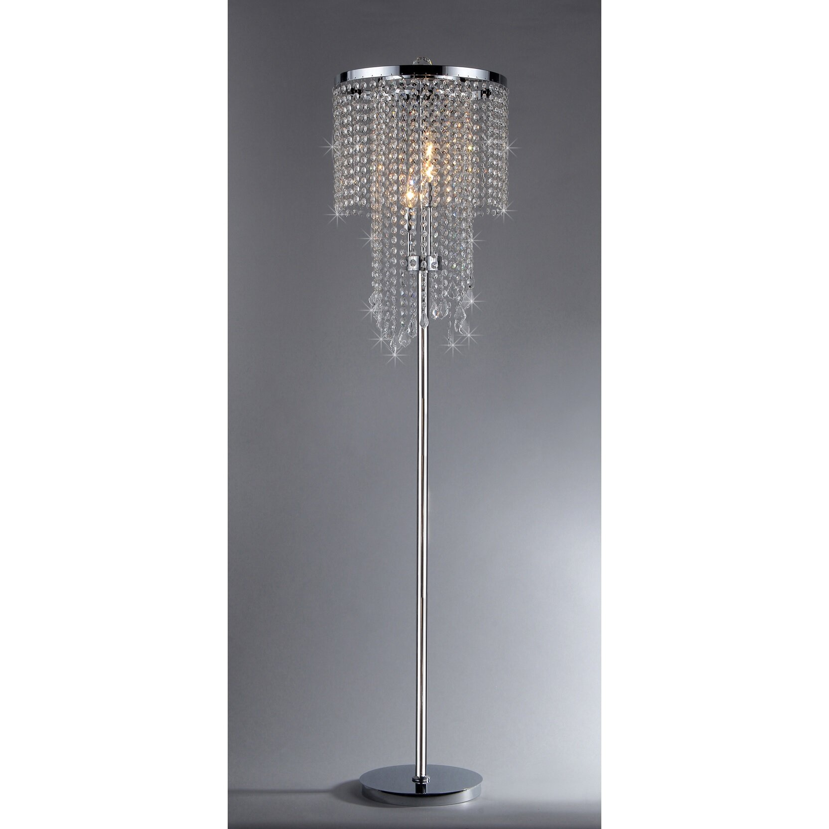 House Of Hampton Karole 63 Candelabra Floor Lamp Reviews Wayfair